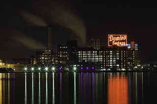Domino Sugars Sign - Baltimore, MD