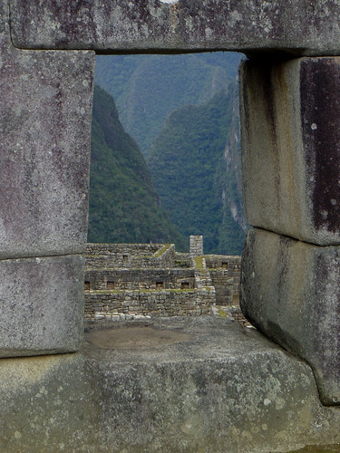 The Temple of Three Windows at Machu Picchu