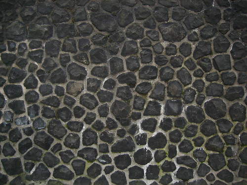Black Stone Wall Flash