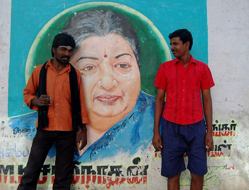 Jayalalithaa and two Chennai ites