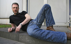 Crotch_8650 (picman1108) Tags: man male legs crotch jeans denim