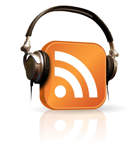 Modified Podcast Logo with My Headphones by Colleen AF Venable, on Flickr