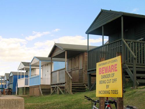 Beach Huts in Tankerton, Kent 4170