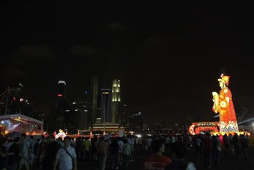 Singapore last night