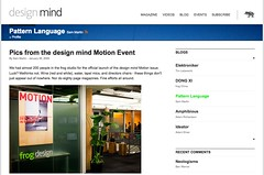 Pics from the design mind Motion Event | Blog | design mind_1233267676188