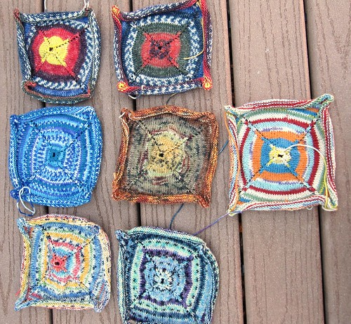 Sock Yarn Squares