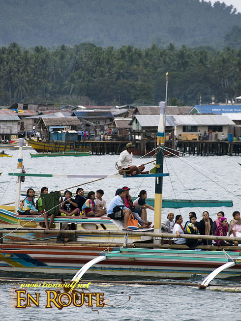 Jolo Ferry Passing