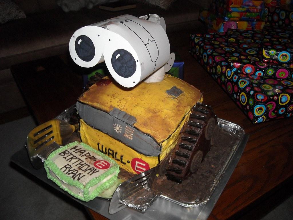 WALLoE Cake Right Mica R Tags Birthday 3d Chocolate