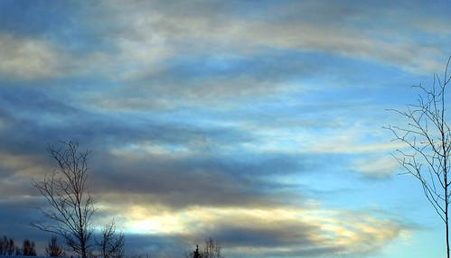 impressionist sky