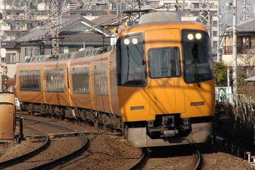 Kintetsu22000series in Masuga〜Yamato-Yagi,Kashihara,Nara,Japan 2009/2/07