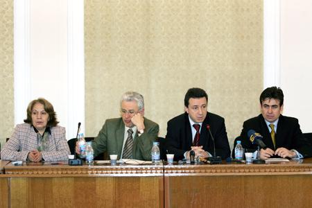 Комисията по правни въпроси при 40-тото обикновено народно събрание