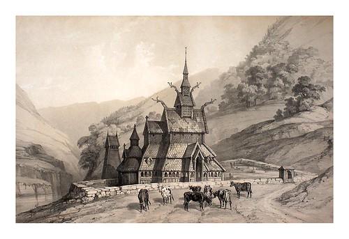 002- Iglesia rumana de Borgund- Noruega