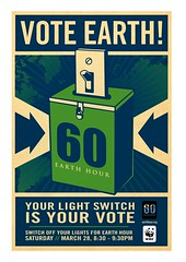 Shepard Fairey Earth Day poster