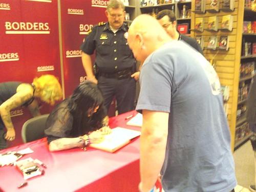 Kat Von D book signing