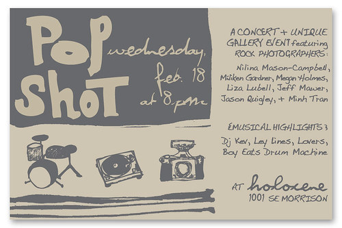 Rock Photography Group Show + bands * Wednesday Feb 18th @ 8pm