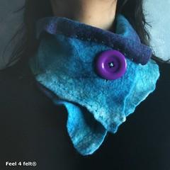 [gola 008 (Helena Pinto - myGraftySide) Tags: wool wet felting artesanal felt merino feltro gola filz l artscrafts cachecol feutre fieltro fffriends feel4felt guaesabo