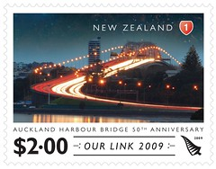 Harbour bridge stamp