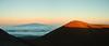 Mauna Kea Sunset (efiniste) Tags: sunset shadow panorama volcano hawaii summit maunakea elevation40004500m summitmaunakea