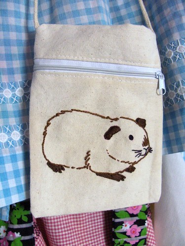 guinea pig embroidery