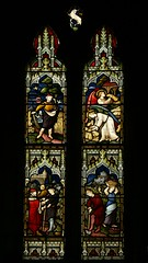South chancel window, St. Giles, Chesterton