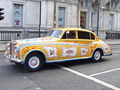 1965 Rolls-Royce Phantom V. DBV 341B. Victoria Street, Liverpool. March 2009. (philipgmayer) Tags: car liverpool rollsroyce beatles rolls lennon johnlennon 800 gildingthelily