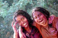 Happy Holi !! (Restless mind) Tags: portrait india colour festival nikon celebration holi pune karishma d40 55200mmvr tadka09wk11 ppmar09