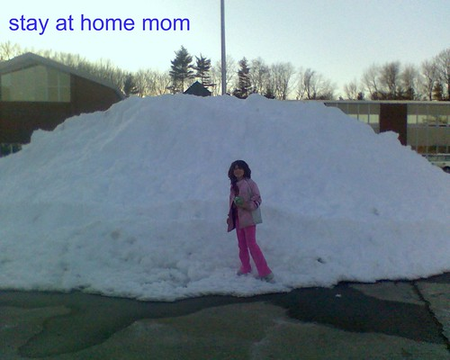snow at school