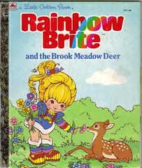 Rainbow Brite (reinap) Tags: illustration books deer childrens rainbowbrite littlegoldenbook littlegolden