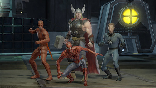 Marvel Ultimate Alliance 2 grupo