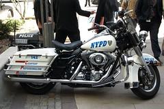 NYPD Highway Patrol Motorcycle, Brooklyn, New York City (jag9889) Tags: county city nyc blue ny newyork bike brooklyn highway police nypd harley company motorbike harleydavidson motorcycle vehicle borough motor hog davidson 2009 department lawenforcement patrol finest jaystreet cadmanplaza firstresponders newyorkcitypolicedepartment y2009 jag9889