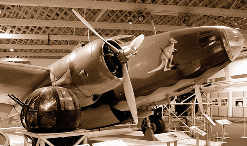 Warbird picture - Lockheed Hudson raaf bomber
