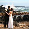 the kiss (Philip Q) Tags: beach hawaii marriage maui larry johanna makena makenacove endofwaileaalanuiroad