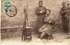 (China Postcard) Tags: china old people woman man kids lady hongkong photo child postcard chinese      peking  qing   shinghai