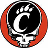 University of Cincinnati Bearcats Grateful Dead Steal Your Face