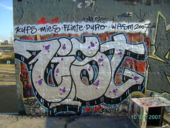 silver graffiti chrome list bombing
