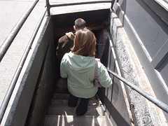 Going down into underground Seattle