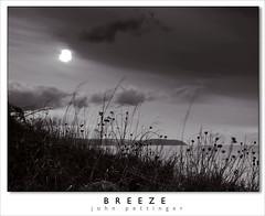 Breeze (John Pettinger) Tags: sunset sea sky cliff west grass clouds canon john coast top sigma somerset monotone 1850 50d pettinger sescape