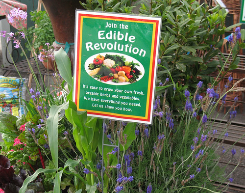 join the edible revolution