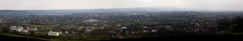 Chernivtsi Panoram - Панорама Черновцов
