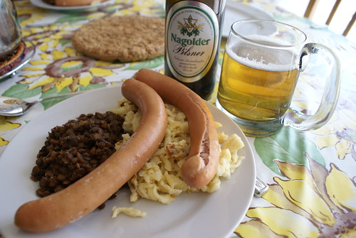 German gourmet food