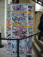 tagged panel (nattynattyboom) Tags: show paris art graffiti tag au grand exhibition collection exposition palais gallizia