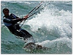 carpe diem (Ev@ ;-)) Tags: friends sea italy man sport wind wave surfing kitesurfing explore watersports emanuele actiontime ostiarome ahpero theseaofrome beachofrome refreshingshooting