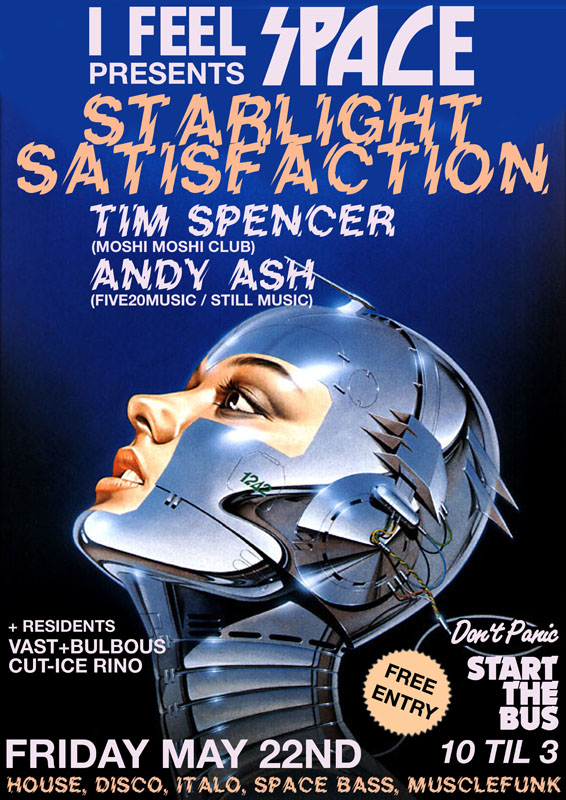 starlight satisfaction poster for I FEEL SPACE