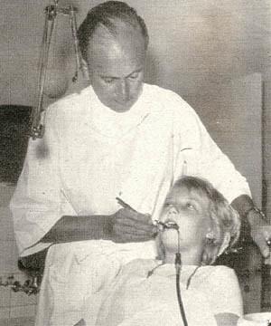 Kerstin hos tandläkaren