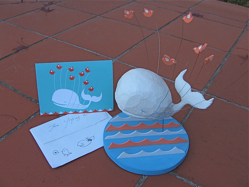 My fail whale card from Yiying Lu!