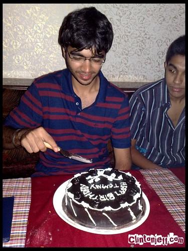 Indian Birthday Traditions Feeding Cake