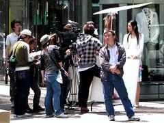 Ginza fashion shoot