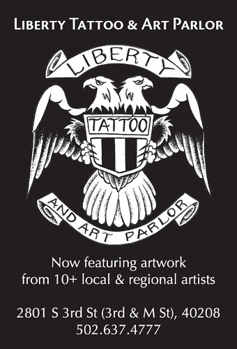Liberty Tattoo & Art Parlor. go get tattooed and buy some art!