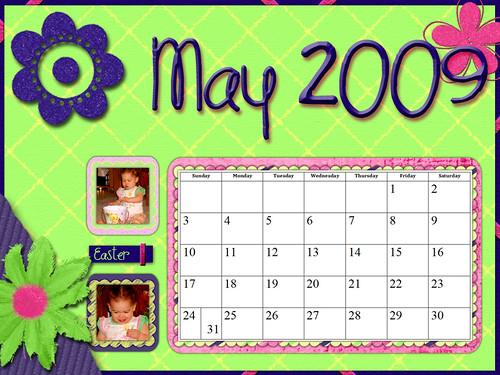 MAY Calendar Challenge 3512039395_d41d6373f0