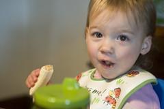 Elena Eats Like a Monkey